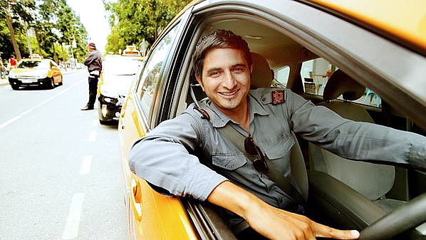 Cab-driver NO BADGE