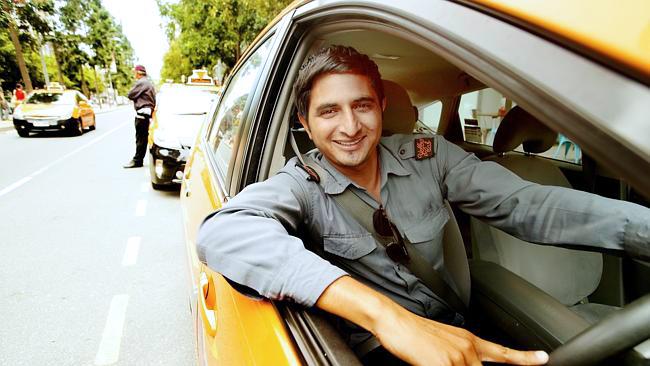 Cab-driver NO BADGE