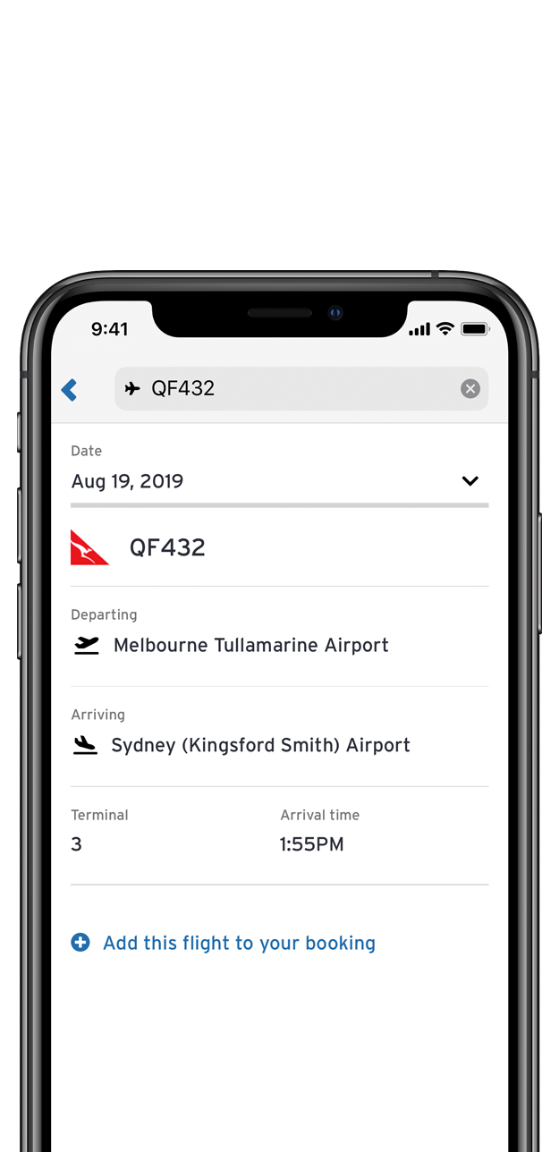iPhone XS - Connected Flight