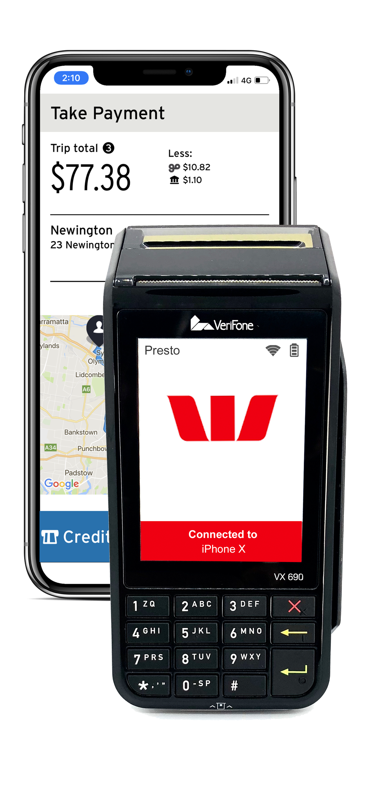 ingogo payment terminal powered by westpac